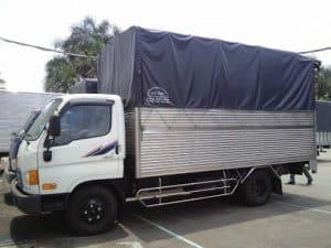 Kích thước xe tải dưới 1.8 Tấn