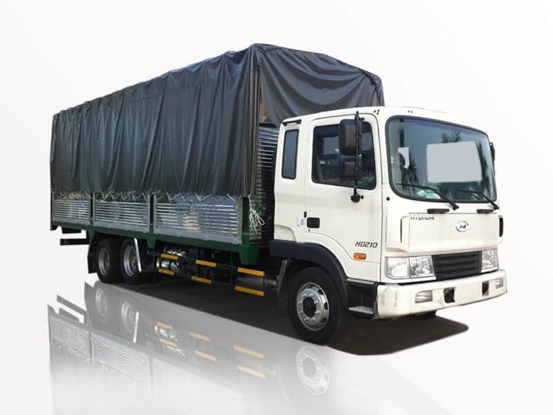 Kích thước xe tải 12 Tấn