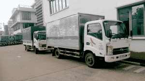 Xe tải chở hàng huyện hóc môn