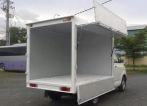 Khung hầm và thùng của những mẫu xe tải dưới 2 tấn