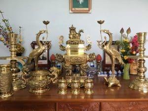 Bàn thờ có đỉnh đồng mang ý nghĩa gì
