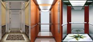 Thông số chiều cao cửa thang máy