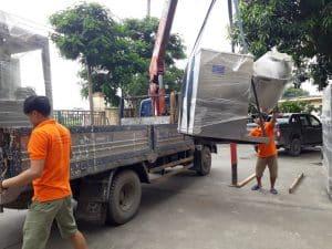Sắp xếp hàng hóa an toàn khi chuyển kho xưởng