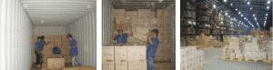 Nhân viên thực hiện quy trình chuyển kho xưởng chuyên nghiệp