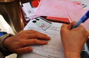 Chuẩn bị giấy tờ cần thiết