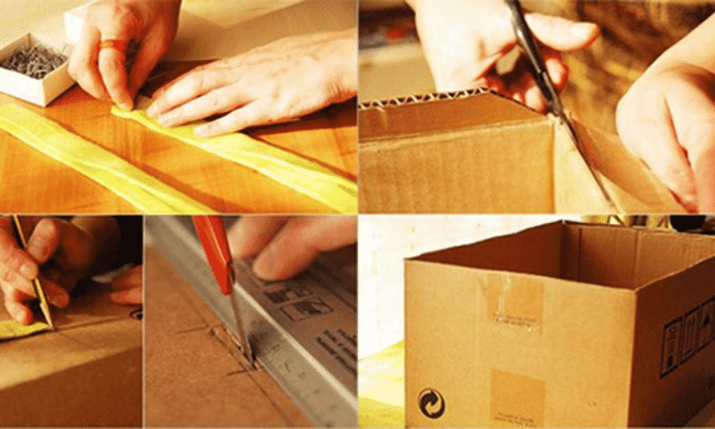 [Hướng dẫn] Cách làm hộp giấy carton đóng gói hàng hoá