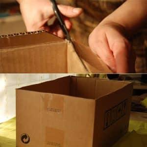 Lưu ý về cách làm hộp carton tại nhà