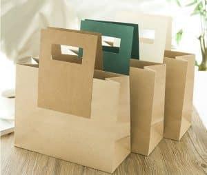 Mua túi giấy kraft tphcm ở đâu? Có mấy loại túi kraft?