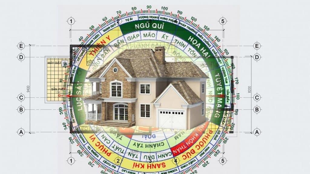 [Hướng dẫn] Xem hướng nhà theo tuổi vợ chồng theo phong thuỷ
