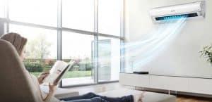 Vị trí tốt nhất để lắp máy lạnh trong phòng khách