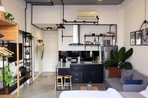 Bạn cũng nên sử dụng những món đồ nội thất nhiều tiện nghi nhé!
