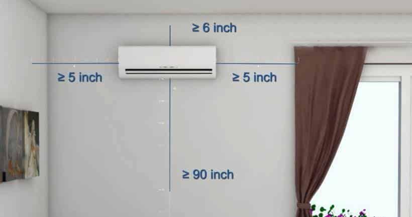 Tìm hiểu vị trí đặt máy lạnh trong phòng khách