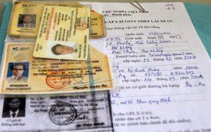 Mẫu xin cấp lại giấy phép lái xe