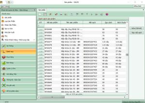 Phần mềm GM Sales
