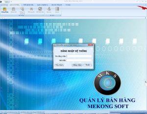 Phần mềm quản lý Mekong Soft
