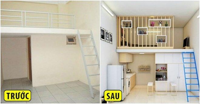 [Chia sẻ] Những cách tiết kiệm không gian phòng trọ