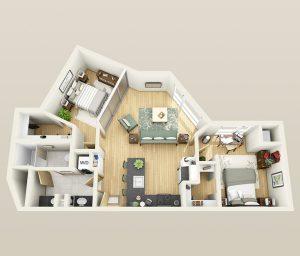 Tránh các căn chung cư có hình dạng méo mó