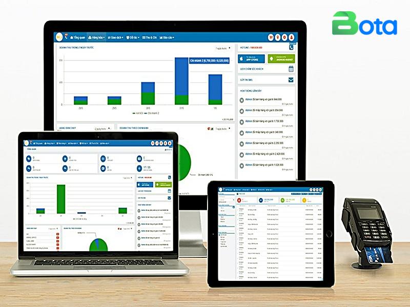 Phần mềm quản lý kho hàng Bota